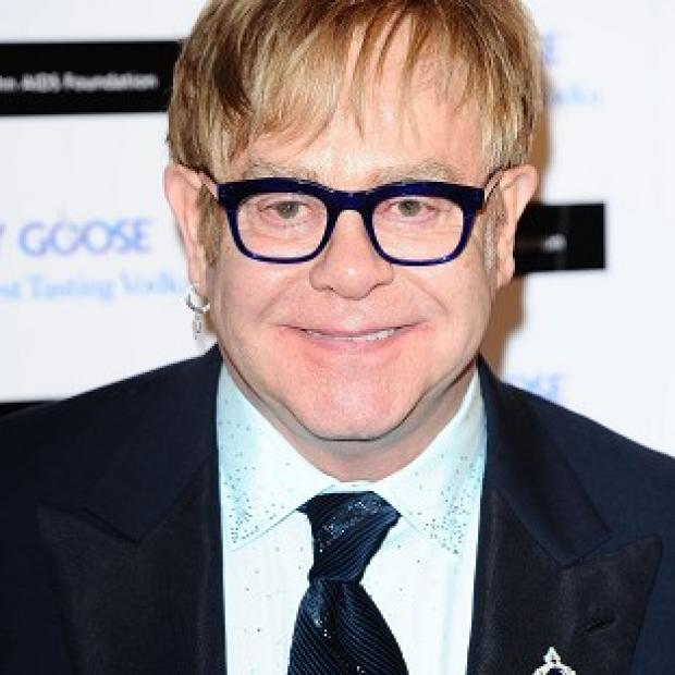 Sir Elton John fears son Zachary will find it hard having famous parents