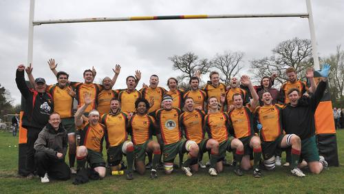 Beaconsfield RFC won promotion last season
