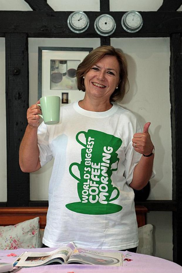 Fundraiser hopes to have best coffee morning yet