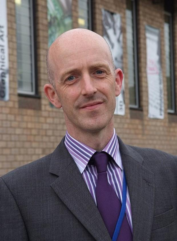 New headteacher urging pupils and staff to set high expectations