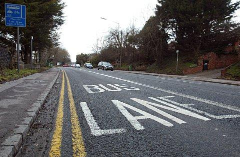 Minor amendments for Wycombe bus lane