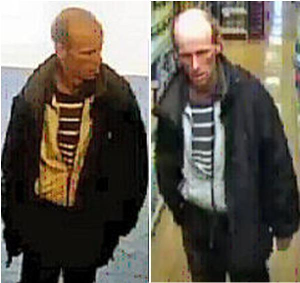 CCTV images released after shoplifting incident
