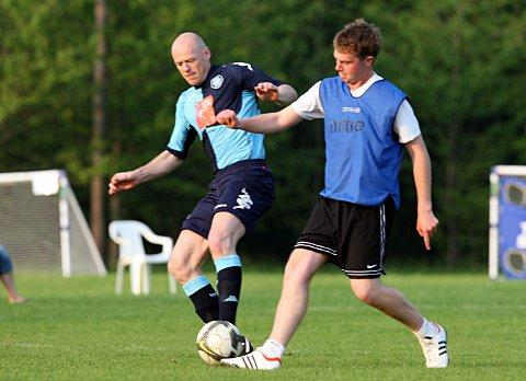 Keith Ryan, pictured during a recent charity match
