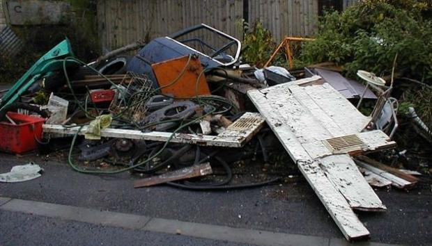 'Dob in flytippers', ex-council house tenants told