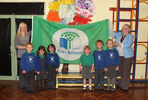 School celebrates green success