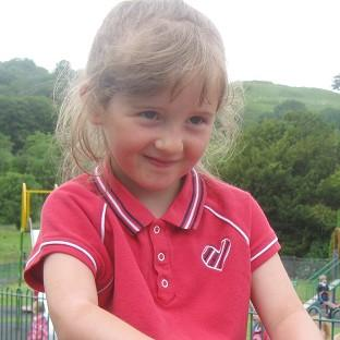 April Jones went missing three weeks ago in Machynlleth, mid-Wales (Dyfed Powys Police/PA)