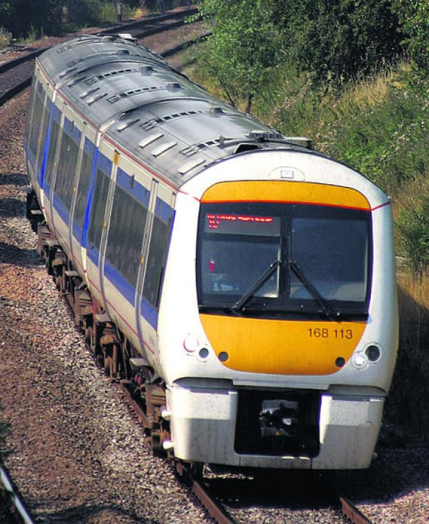 Train delays after vehicle hit bridge