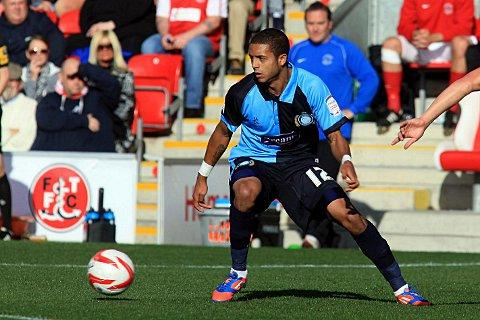 Bruno Andrade is a doubt to face Barnet tonight. Photo by Paul Dennis