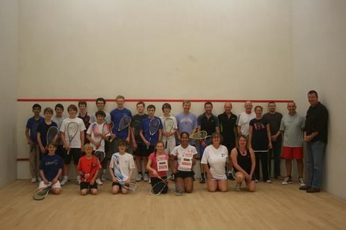 Wycombe Squash Club took part is global 'match'