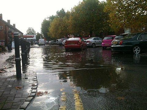 More floods for Bourne End road