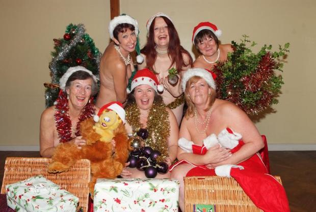 Beaconsfield ladies strip off for Calendar Girls