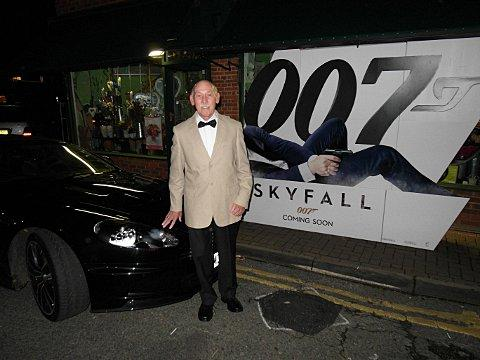 Jim Lloyd at Skyfall screening