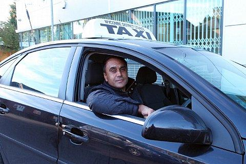 Hackney Cab spokesman and driver Ghulam Rasool