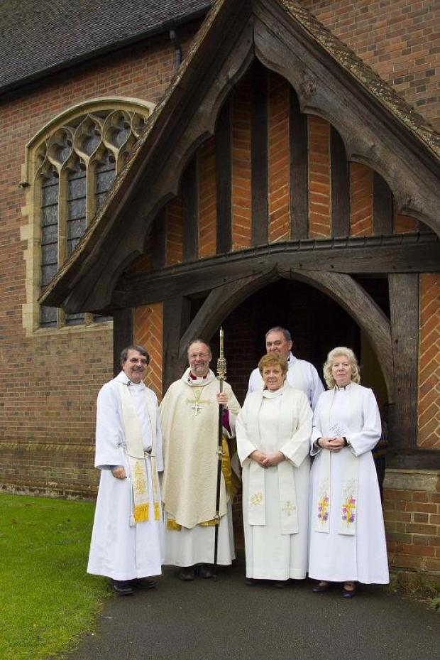 Bishop helps church celebrate centenary