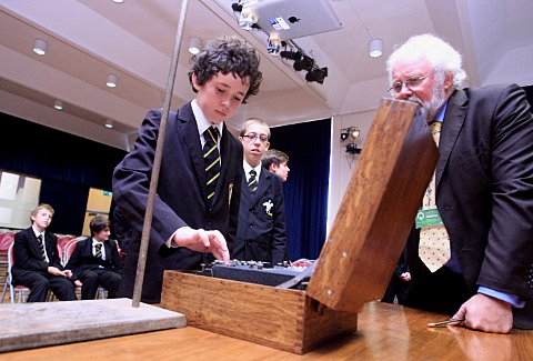 Grammar school pupils crack codes with Enigma