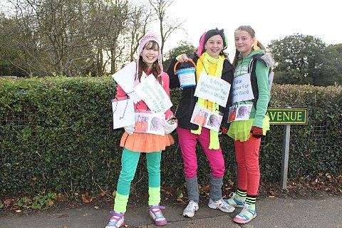 Bethany Terry, Charlotte Hoing and Lucy Hobbs