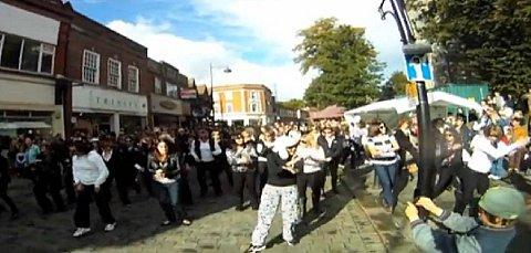 Wycombe Gangnam Style flash mob video becomes an internet hit