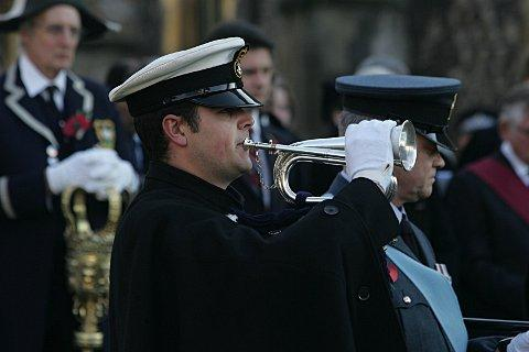 Photo from last year's Remembrance service. Photos of this year's to come.