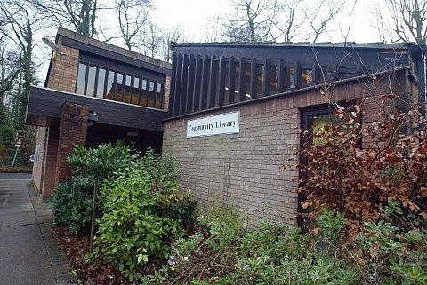 Little Chalfont Library. Plans to build a Community Centre here have been welcomed by residents
