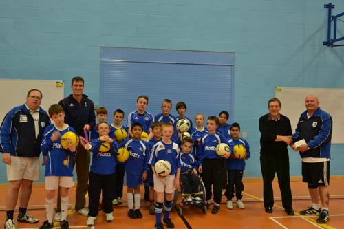 Greg Searle meets the players from Marlow Inclusive FC
