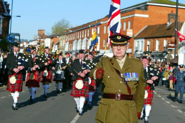 Marlow's Remembrance Day 'unforgettable'