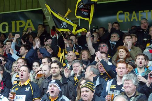 Large Wasps crowds can only help Wanderers