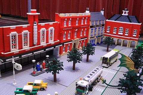 Lego fans recreate Wycombe High Street in miniature