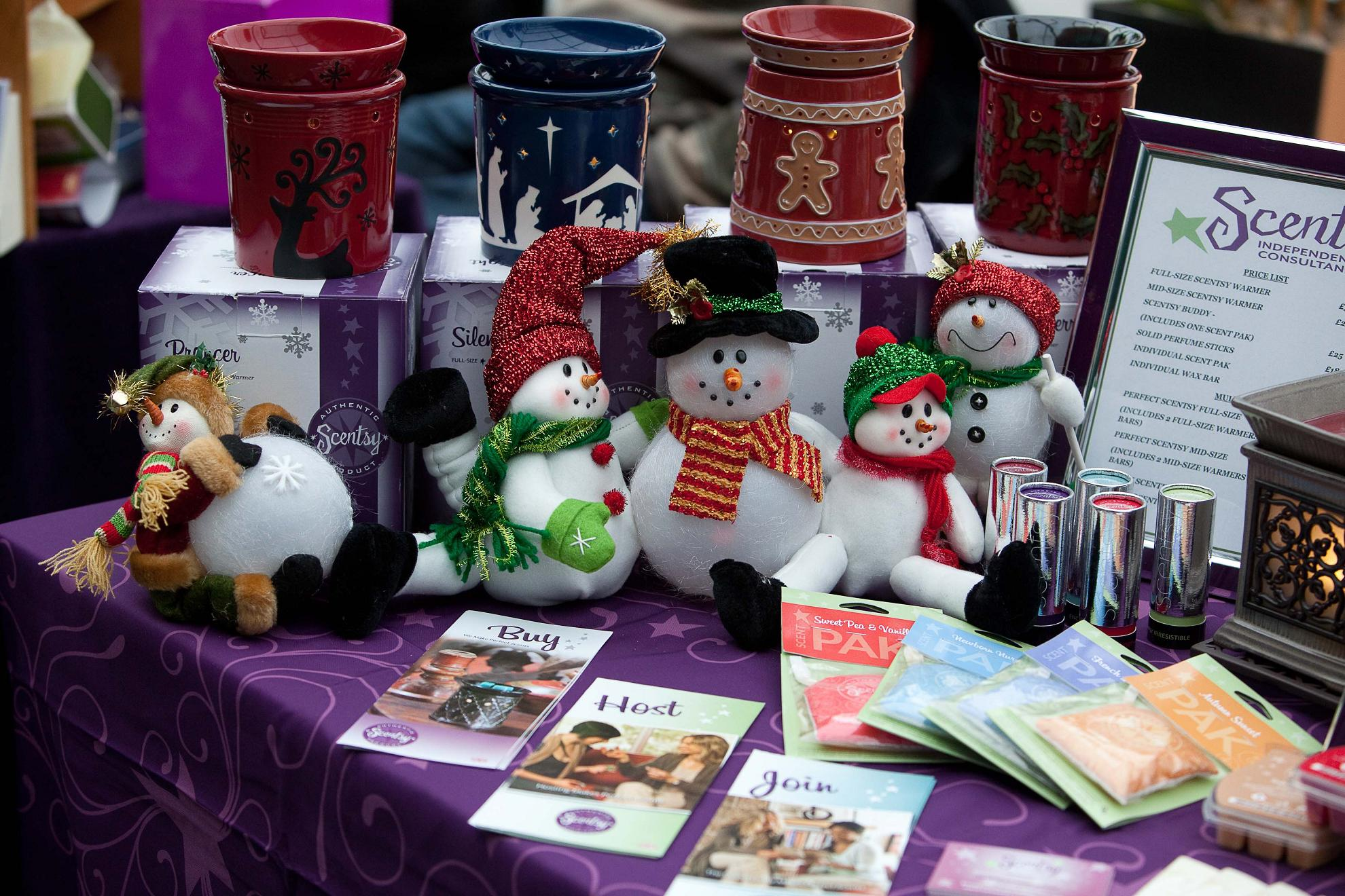 Carols and festive fun at Christmas market