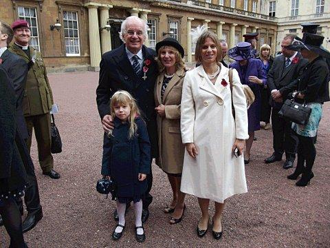 Downley Cllr honoured by the Queen for services Lincoln Cathedral