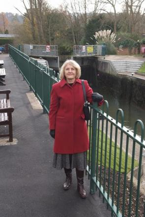 Dismay over safety railings at Marlow Lock