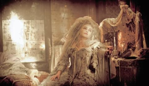 Helena Bonham Carter in the Great Expectations film