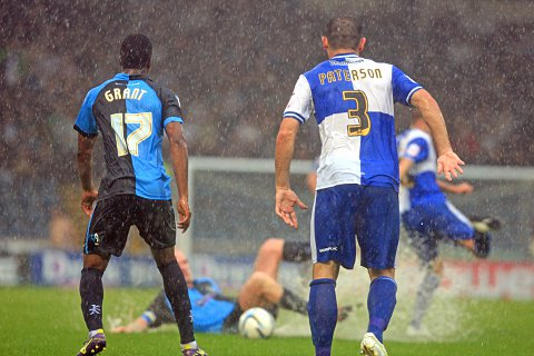 The previous game between Wanderers and Bristol Rovers was abandoned