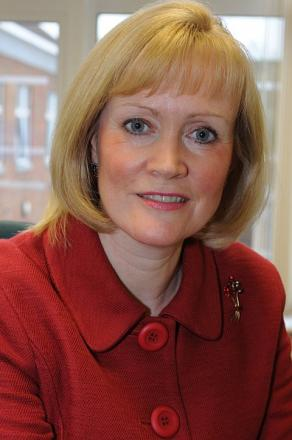 Anne Eden, chief executive of Buckinghamshire Healthcare NHS Trust