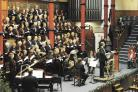 Harrow Choral Society's Christmas celebration concert takes place in Harrow School's Speech Room