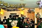 The Salvatorian College choir performed for nursing home residents