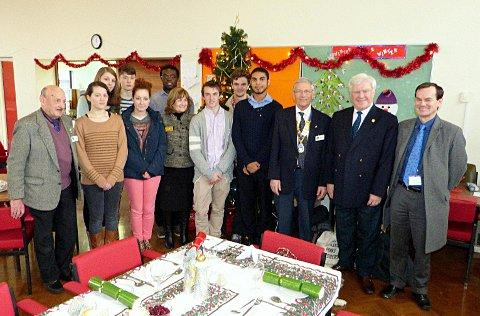 Rotary President visits dementia cafe