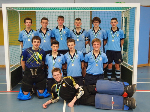 High Wycombe HC U18s boys are on course to defend their title