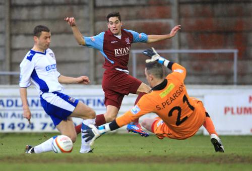 Chesham were knocked out of The FA Trophy by Barrow last weekend