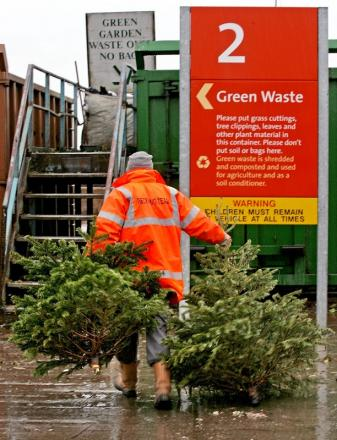 Get ready to recycle as festive period winds down