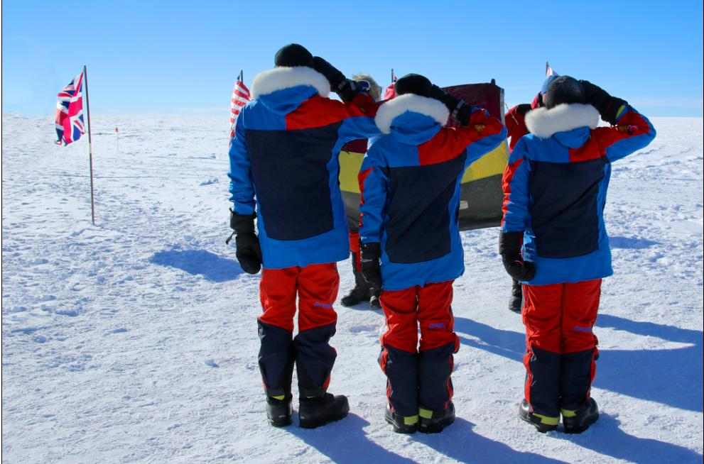 Marlow doctor: South Pole trek phenomenal