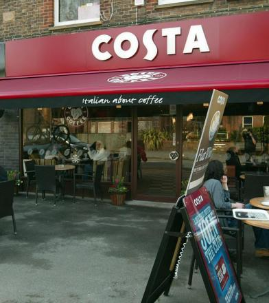 Sledgehammer break-in at Costa