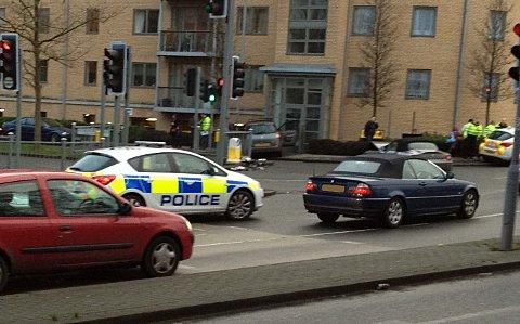 Collision by Wycombe Marsh retail park