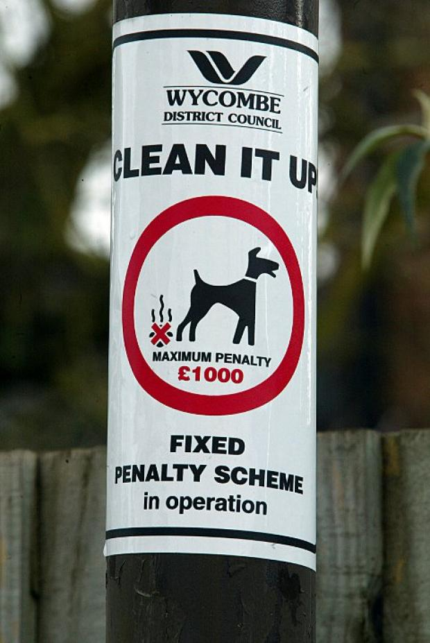 "Cllr ""embarrassed"" by dog fouling in Risborough"