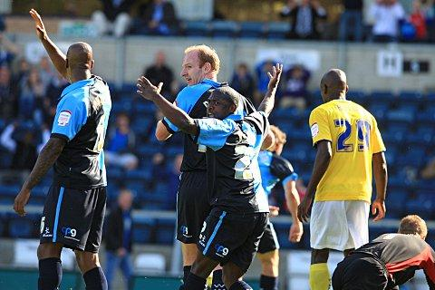 Wanderers were beaten 1-0 by AFC Wimbledon in September