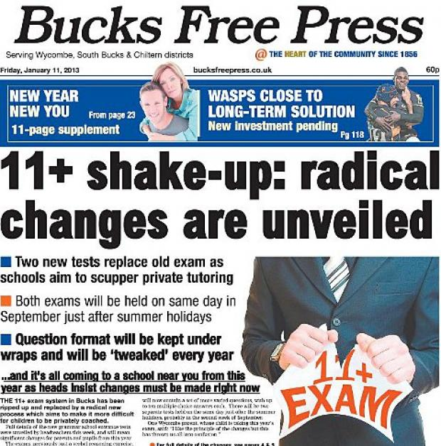 Don't forget to pick up your bumper Bucks Free Press today!
