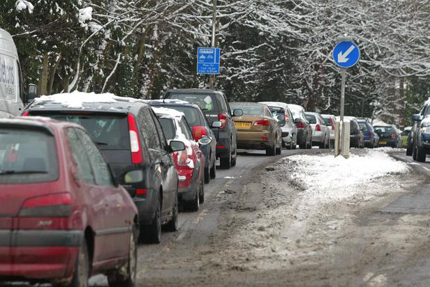 Ambucalnce service advice for icy driving conditions