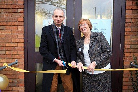 David Lidington and Ann Sherman