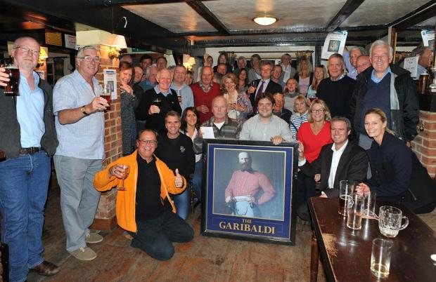 Villagers pledge to get Garibaldi 'back in shape'