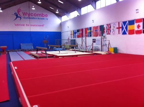 The new Wycombe Gynmastics Academy