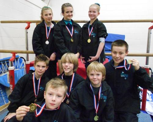 Booker Gym Club triumphed at the regionals